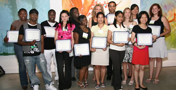 College Scholars at Award Ceremony